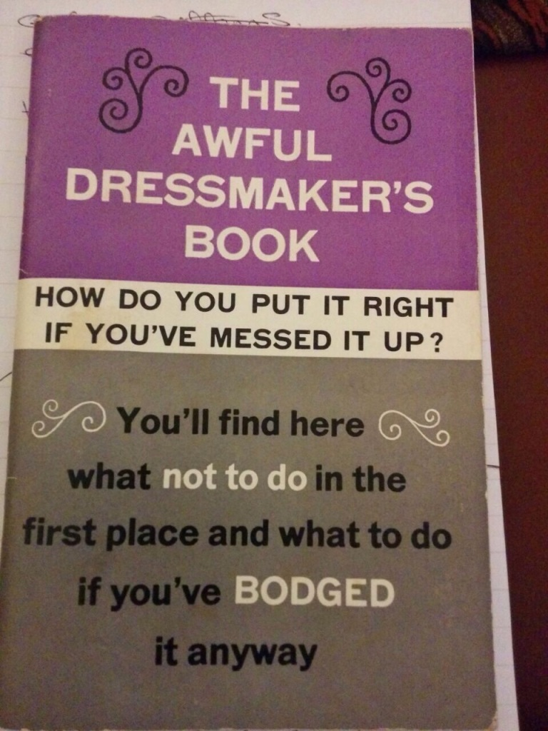 awful dressmakers book