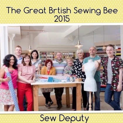 Well done Amanda from Sew Deputy....so sad to see you go...