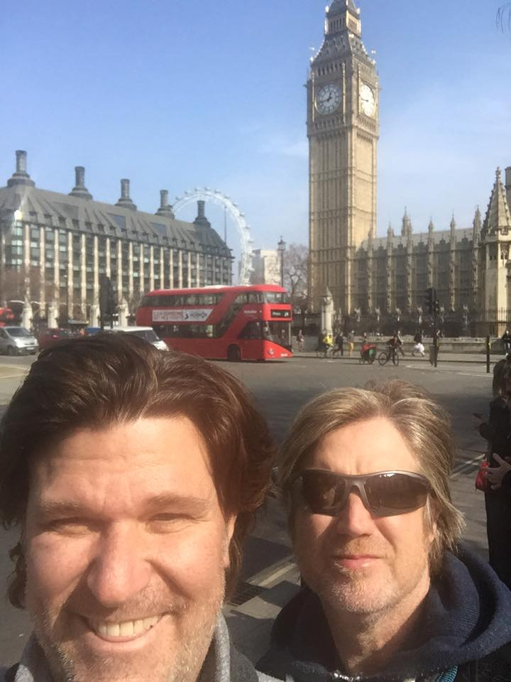 David (left) & Martin