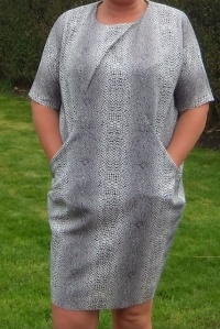 Great British Sewing Bee Drapey Knit Dress
