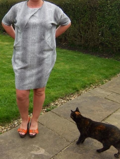 drapey dress GBSB 5