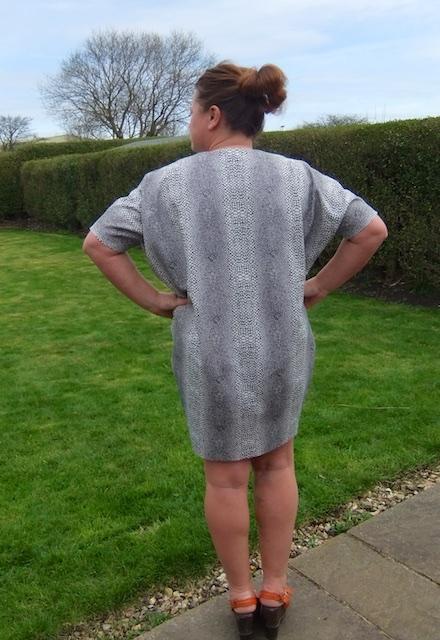 drapey dress GBSB 6