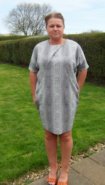 drapey dress GBSB 8