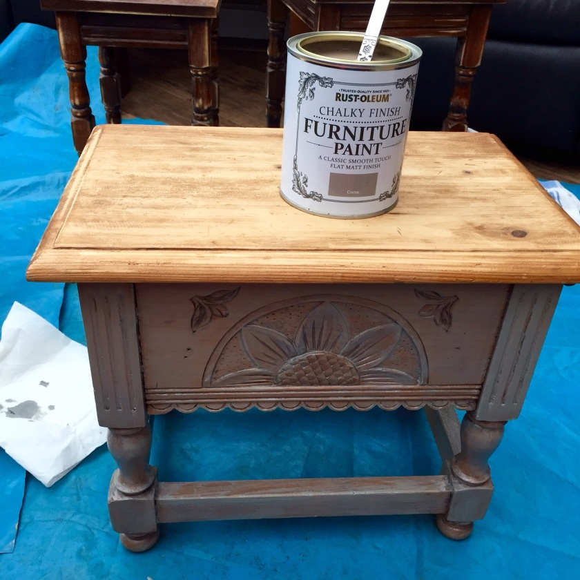 Rustoleum paint upcycle