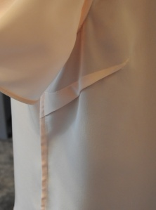 The silk top I made when I went on Heather Jacks sewing with silk master class.