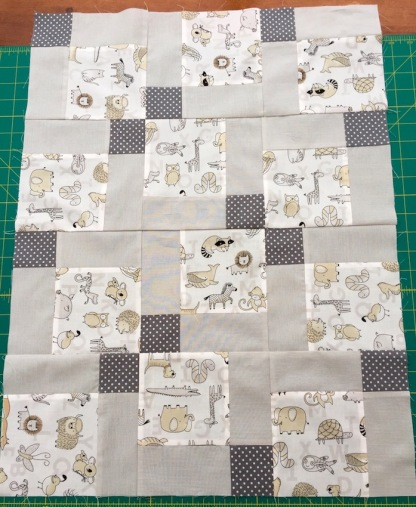 #firstquilt #babyquilt #disappearingsquare 640