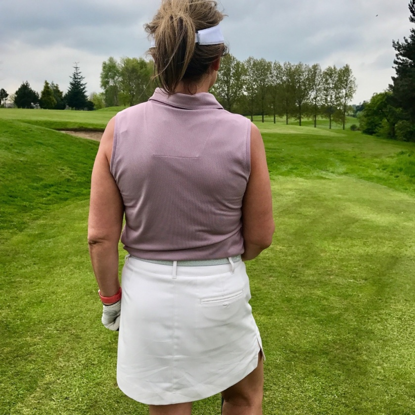 #poloshirtrefashion #thimberlina #ladiesgolf8