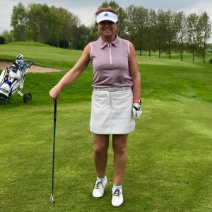 #poloshirtrefashion #thimberlina #ladiesgolf9