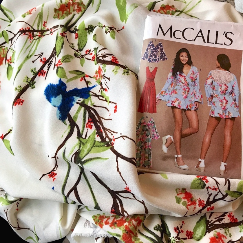 #M7577 #thimberlina #mccalls7577 #playsuit #jumpingintojune1